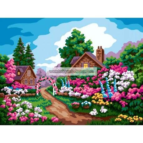 Casitas de campo en primavera Collection D'Art 10479