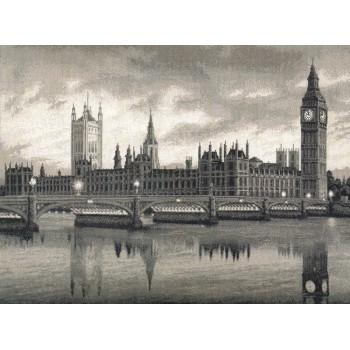 Londres Reflejos en el Támesis Golden Fleece VS-005 London