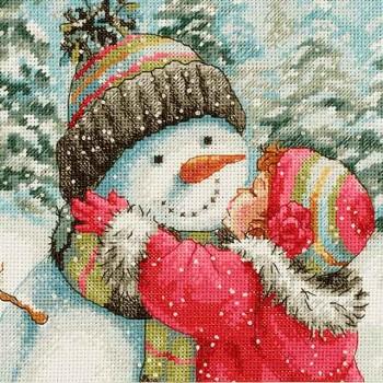 Un beso para el muñeco de nieve Dimensions 70-08833 A Kiss for Snowman