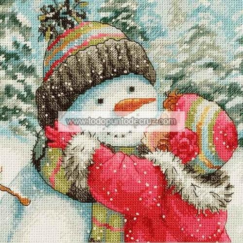 Un Beso para el Muñeco de Nieve