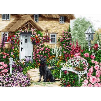 El Jardín de la Casa de Campo Luca-S B2377 Cotagge Garden