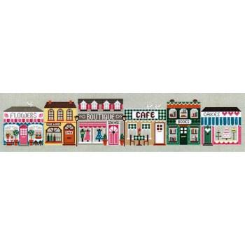 La calle de las tiendas Little Dove 64 High Street