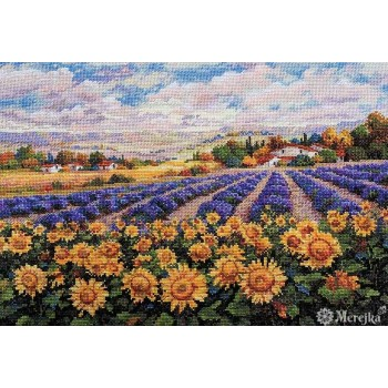 Campos de Lavanda al Sol Merejka K-179 Fields of Lavender & Sun