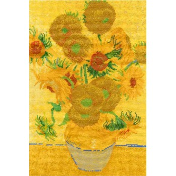 Los Girasoles de Van Gogh DMC BL1063 National gallery Sunflowers