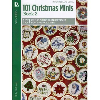 101 Mini Diseños Navideños Leisure Arts 5523 Christmas
