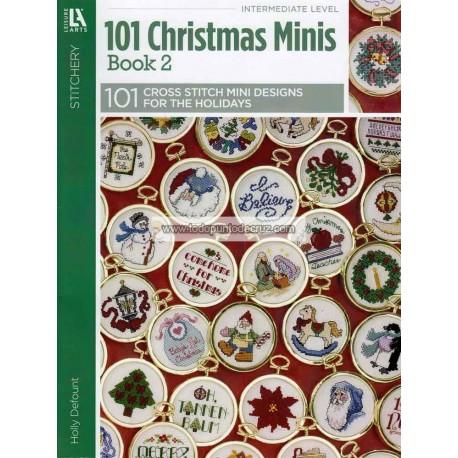 101 Mini Diseños Navideños Leisure Arts 5523 Christmas