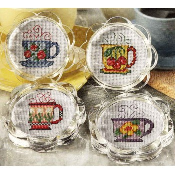 Posavasos Tazas Leisure Arts 6275 coasters Tea cups