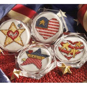 Posavasos Leisure Arts 6275 coasters America