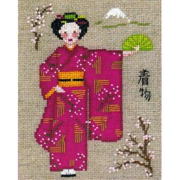 Kimono Rosa Bonheur des Dames 2331 Kimono rose