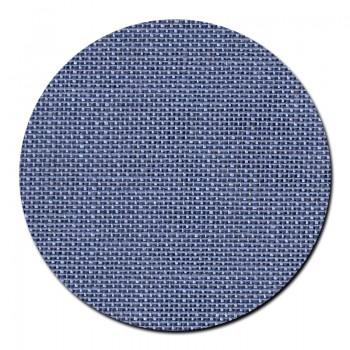 Retal de lino azul Permin