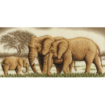 La Gran Familia Elefante Panna J-0596 Wonderful family