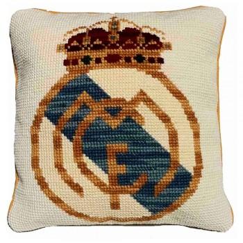 Cojín Escudo Real Madrid Taller de Cañamazo 229