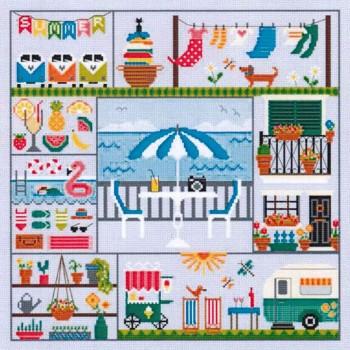 Una puntada para cada estación verano Little Dove Designs Puntada para cada estación verano