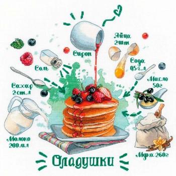 Receta de tortitas RIOLIS 1919 Recipe Pancakes