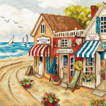 Las Tiendas Junto al Mar Letistitch LETI905 Shops by the Sea