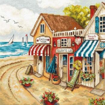 Las Tiendas Junto al Mar Letistitch LETI905 Shops by the Sea