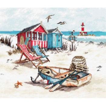 Casetas de baño y barca en la Playa Letistitch LETI972 beach
