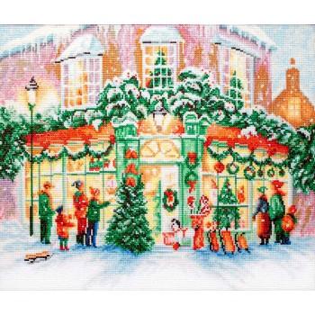 La Tienda Navideña Letistitch LETI914 Christmas Shop