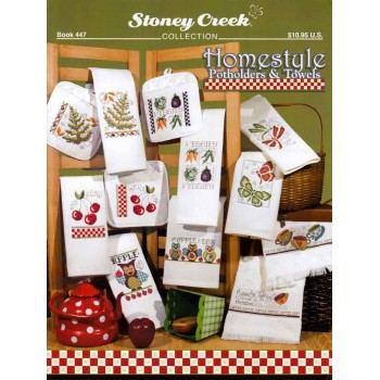 Ideas para paños y agarradores Stoney Creek 447 Homestyle