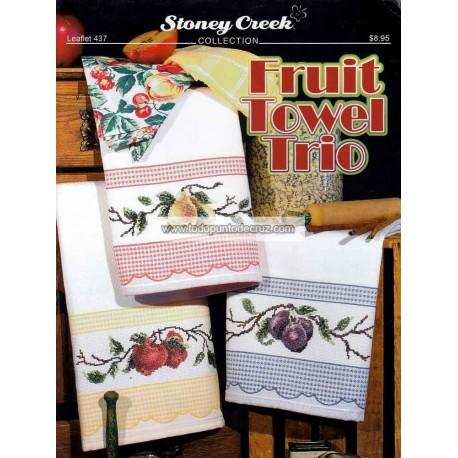 Trío de Paños de Cocina Stoney Creek 437 Fruit Towel Trio