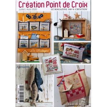 Revista Creations Point de Croix 83 Julio Agosto 2020