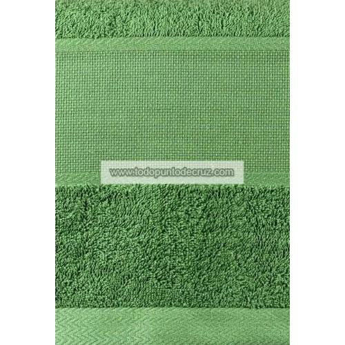 Toalla Lavabo Rizo Verde