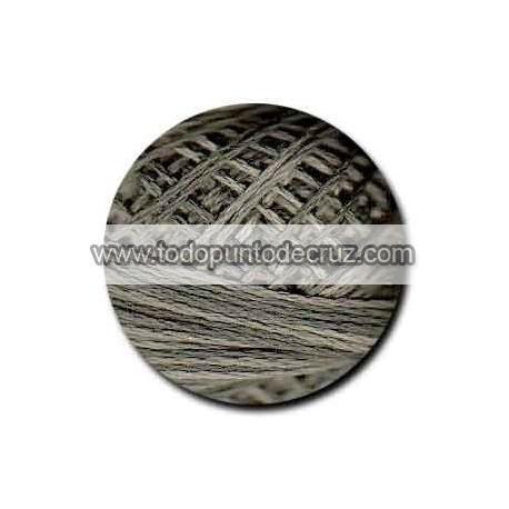 Hilo Valdani H209 Khaki Black 3 strand cotton floss