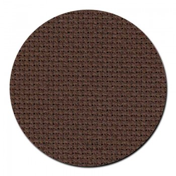Tela aida 14 ct. Marrón Chocolate Permin 357-96