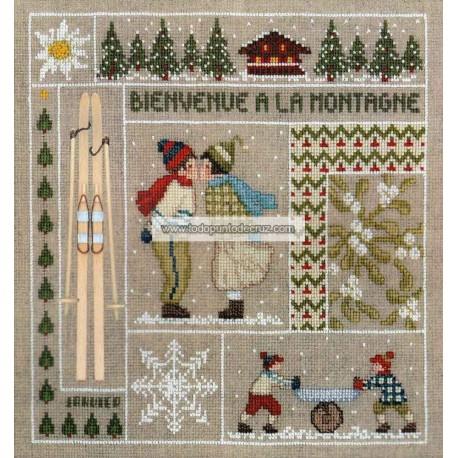 Bienvenida Enero Bonheur des Dames 2650 Bienvenue Janvier