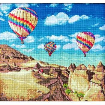 Globos Sobre el Gran Cañón Letistitch LET961 Balloons over Grand Canyon