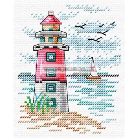 faro y velero MP Studia M-283 Lighthouse