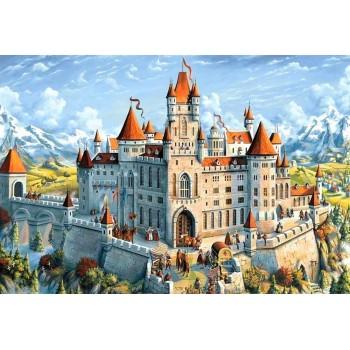 Castillo Mágico con Diamantes Wizardi WD2489 Magic Castle Diamonds