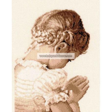 Niña Rezando Vervaco PN-0158511 Praying Girl