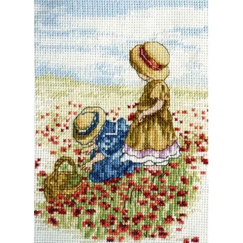 All Our Yesterdays Cogiendo Amapolas AOY Faye Whittaker Poppy Field FW49
