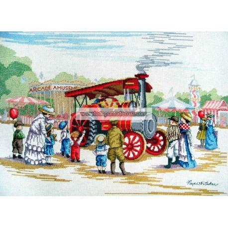 All Our Yesterdays Locomotora de Vapor AOY Faye Whittaker Steam Engine FW7