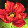 Amapola Roja Dimensions D71-07246 Red Poppy