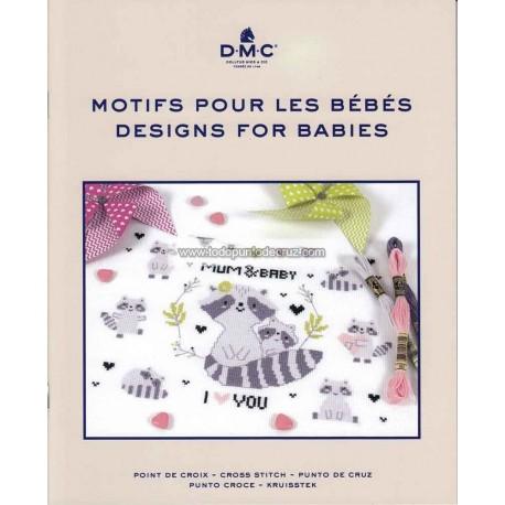 Diseños para Bebés DMC 15757-22 Motifs pour les Bebes