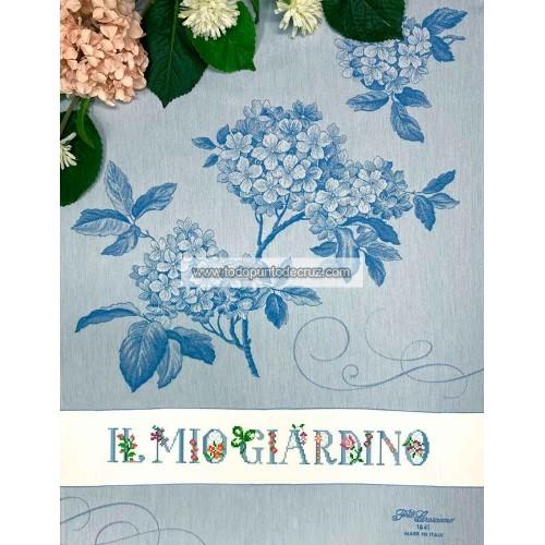 Paño de Cocina Hortensia