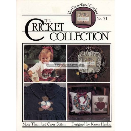 Osito y Corona Navideña The Cricket Collection 71 More than Just Cross Stitch