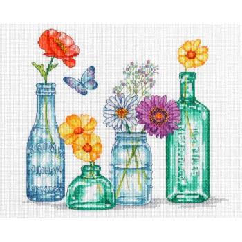 Tarros de Flores Silvestres Dimensions D70-35397 Wildflower Jars