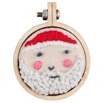 Mini Marcos de Madera Trimits TN002 Mini Embroidery Hoop Frames