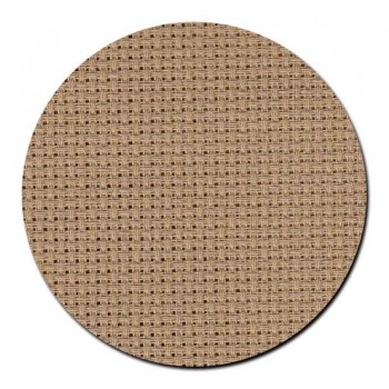 Tela aida 14 ct. Marrón Natural Permin 357-100 Natural Brown