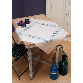 Mantel Lavandas Vervaco PN-0165238 Lavender Tablecloth