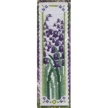 Campanillas: Marcapáginas Textile Heritage BKBL Bluebells Bookmark