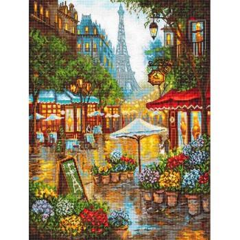 Flores de Primavera en París Letistitch LETI923 Spring Flowers Paris
