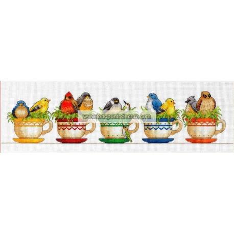 Pajaritos en Tazas Dimensions 70-35394 teacup Birds