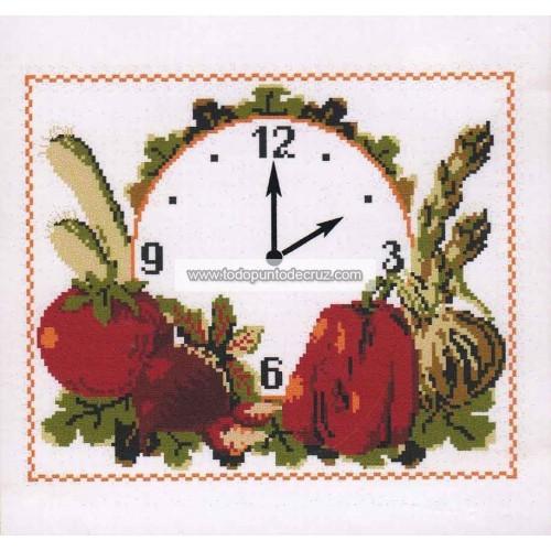Reloj Tomate y Pimientos