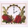 Reloj Tomate y Pimientos Aracne