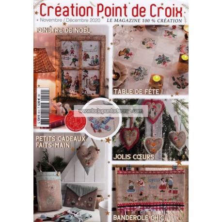 Revista Creaciones en Punto de Cruz Nº 85 Creation Point de Croix