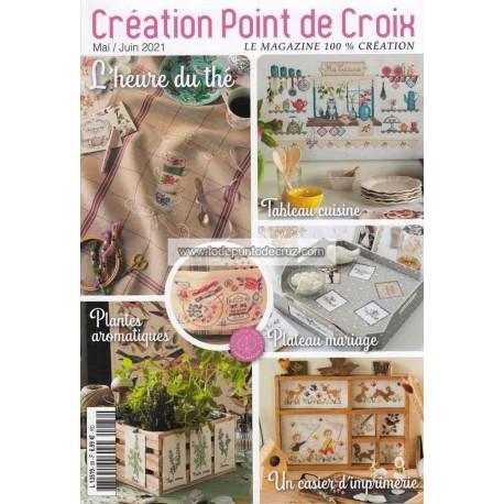 Revista Creaciones en Punto de Cruz Nº 88 Creation Point de Croix